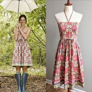 Anthropologie Plenty By Tracy Reese Floral Sundres